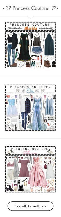 """- ̗̀ Princess Couture ̖́-"" by i-get-a-little-bit-breathless ❤ liked on Polyvore featuring Red Wing, Zara, Yves Saint Laurent, Blu Bijoux, Converse, Xirena, Scosha, Jeweliq, Stila and LashFood"