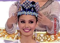 MISS WORLD 2013, from the Phillipines Megan Young. lst Phillopino ever to win
