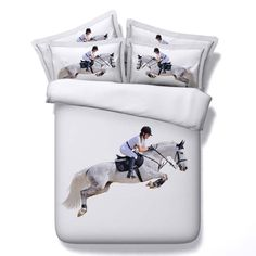 3d bedding beautiful horse bedding sets sheet duvet cover set unisex #1635|3d Bedding(US Size)
