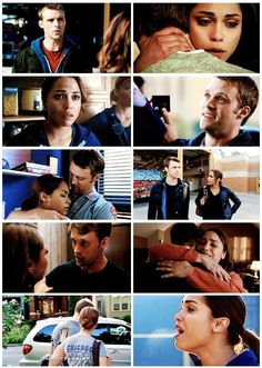 Dawsey at the beginning and end of each season