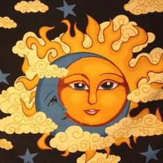 Sun Moon Tapestry  - Mellow Mood