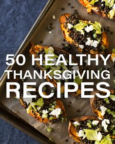 50 Healthy Thanksgiving Recipes