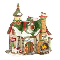Amazon.com - The Polar Plunge Warming House | Department 56 Lighted Building (4030718)