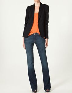 zara - fall here I come! All this needs is a necklace or a scarf.