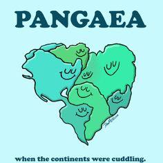 J'ai choisis cette photograph pour mon mot vocabulaire parce-que, PANGEA est une mot important pour nous de savait pace-que la definition de PANGEA est beaucoup des annés avant, tout les continents touche un autre
