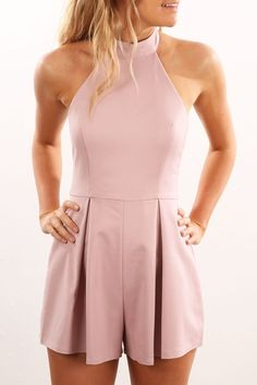 Discovery Playsuit Blush