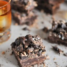 Loaded Chocolate Bourbon Fudge Recipe