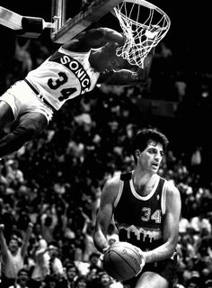 Xavier McDaniel dunk
