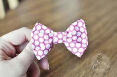 bowtie hair-bow tutorial.