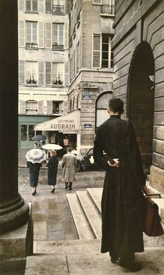 Paris in the 1950's