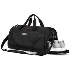 ac9b21f2d1f4 Sports Gym Bag with Shoes Compartment for Men and Women