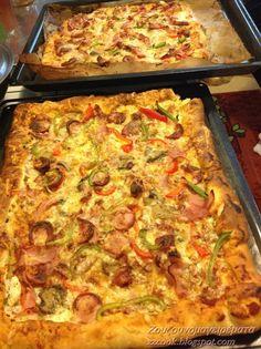 Cookbook Recipes, Pizza Recipes, Dessert Recipes, Cooking Recipes, Easy Recipes, Desserts, Cookie Dough Pie, The Kitchen Food Network, Macedonian Food