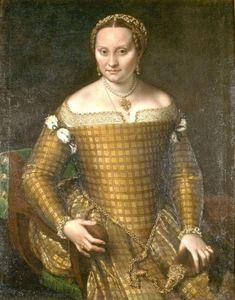Bianca Ponzoni, the artist's mother, ca. 1557  (Sofonisba Anguissola) (1530-1625) Staatliche Museen zu Berlin
