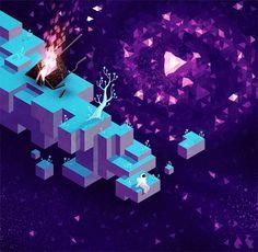 Découvrez le dessin en hexagone avec Hexels | Blog du Webdesign