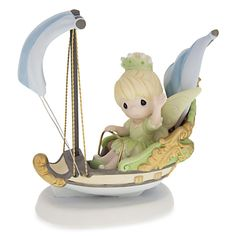 Tinker Bell ''Imagination Has No Ride'' Figurine by Precious Moments | Disney Store