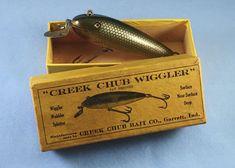 Creek Chub Wiggler w/Box