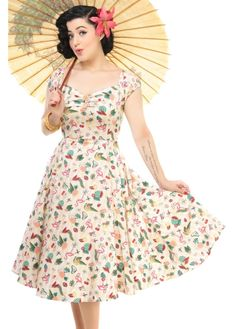 Image result for collectif dress dolores flamingo