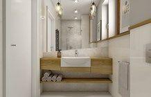 Dom w Opolu Bathroom Spa, Laundry In Bathroom, Bathroom Cabinets, Bathroom Inspiration, Home Decor Inspiration, Interior And Exterior, Interior Design, Vanity Units, Beautiful Bathrooms