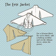 Pattern Puzzle - The Erté Jacket (via Bloglovin.com )