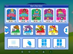 WH Question Cards - Pro ($9.99) teaches students how to correctly ask and answer WHO-WHAT-WHEN-WHERE-WHY questions. 4 entertaining learning games for each WH set of cards, and includes enhanced data tracking so educators and parents can keep track of student progress. Repinned by SOS Inc. Resources @sostherapy.