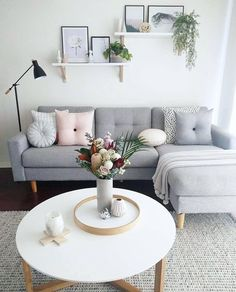 Living Room Furniture Table - - room tableManiacal Living Room Furniture Table - - room table Ecksofa Adorable Small Apartment Living Room Decoration Ideas On A Budgetvhomez Living Room Grey, Home Living Room, Interior Design Living Room, Cozy Living, Design Room, Living Area, Sofa Design, Interior Rugs, Small Living Room Designs