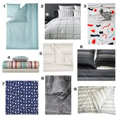 We scoped out modern duvets and quilts that are perfect for fall and winter to give your bed a fresh, new look for the upcoming seasons.