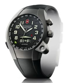 The LEDs that light up to indicate heading are kind of cool. as is the level. High End Watches, Cool Watches, Watches For Men, Men's Watches, Discount Watches, Victorinox Swiss Army, Swiss Army Watches, 30, Light Up