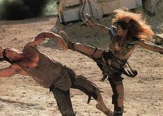woman warrior post apocalyptic | Please help identify post apocalyptic movie