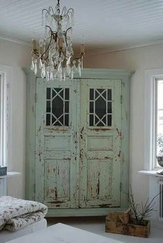 Cabinet made from old doors!  Love it.....via the Junky Monkey!