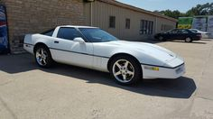 My 1990 Corvette with C6 wheels.