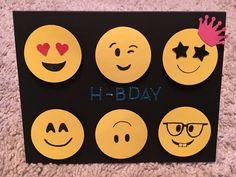 Emoji bday card
