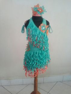 Latin dress for competition special designed and created by Joe Jemiyanti