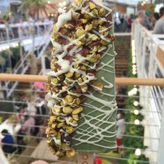 Pistachio Gelato Popbar at The Anaheim Packing House! Travel to Anaheim, California for some good eats!