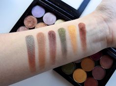 Mary Bloomy: Makeup Geek Eyeshadow Book | Swatches |