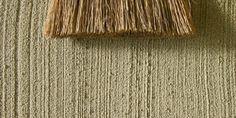 Sandsteingrund Besenstrich Reisbesen D 1045, 0.7 mm - Fassadensysteme, Wärmedämmsysteme, hinterlüftete Fassade, Natursteinfassade