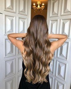 Balayage Straight Hair, Brown Hair Balayage, Brown Blonde Hair, Brunette Hair, Hair Highlights, Ombre Hair, Honey Brown Hair, Hair Shades, Hair Looks