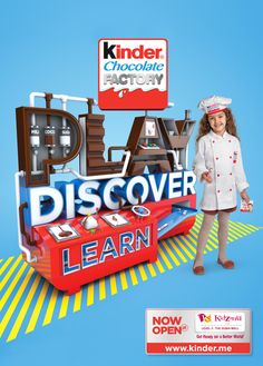 Kinder Chocolate Factory launch campaign at Kidzania Dubai