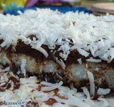 Gâteau chocolat coeur de coco