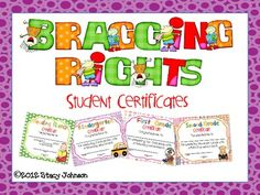 This product has student certificates for end of the school year. There are multiple designs which total 17 award certificates and can be used with...
