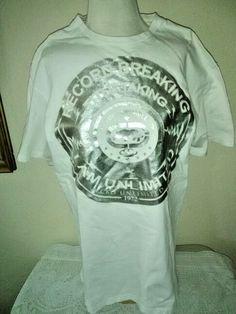 ECKO Unltd T Shirt Silver Lettering New No Tags #EckoUnltd #GraphicTee