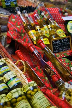 Olives And Olive Oil, Arles market