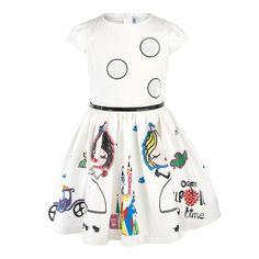 $9.96 (Buy here: https://alitems.com/g/1e8d114494ebda23ff8b16525dc3e8/?i=5&ulp=https%3A%2F%2Fwww.aliexpress.com%2Fitem%2FRetail-2017-New-girls-dresses-100-cotton-Cute-little-kids-dresses-for-girl-white-cartoon-children%2F32787889430.html ) Retail 2017 New girls dresses 100% cotton Cute little kids dresses for girl white cartoon children princess dress girl costume for just $9.96