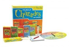 Charades Party Game – Family Charades-in-a-Box Compendium Board Game - No more time spent thinking up good charades – the fun starts as soon as the box is opened. With both easy and challenging charades for different tastes and interests,