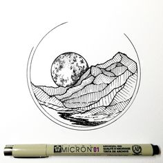 simply pen and ink drawing - Bing images Pen Sketch, Sketches, Stylo Art, Ink Doodles, Desenho Tattoo, Ink Drawings, Daily Drawing, Ink Illustrations, Pen Art