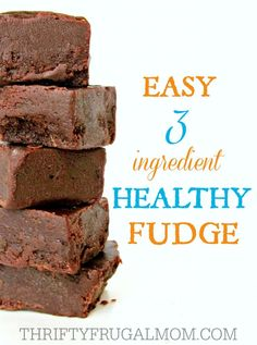 Seriously, what's not to love about an easy, healthy snack like this fudge? It's made with just coconut oil, honey and cocoa powder!