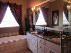 Customized master bath - King's Gate model home