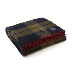 Faribault Woolen Mill Co. Foot Soldier Military Wool Blanket