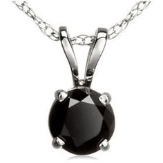 1.50ct Natural Treated Black Round Diamond Solitaire Pendant in 14K White Gold.Included 18 Inches 14K White Gold Chain. TriJewels, http://www.amazon.com/dp/B002QC104K/ref=cm_sw_r_pi_dp_22MZqb05E95NP