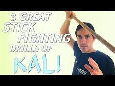 Amazing Beginner KALI STICK Fighting Drills for 2016 - Filipino Martial Arts - YouTube