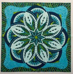 Vintage Rose ~Quiltworx.com, made by CI Patsy Carpenter